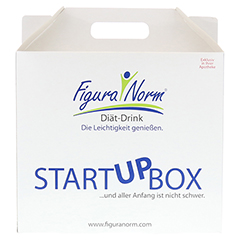 FIGURANORM StartUPbox Schoko Pulver 1 Stück - Vorderseite