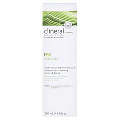 CLINERAL PSO Body Cream 200 Milliliter - Rückseite