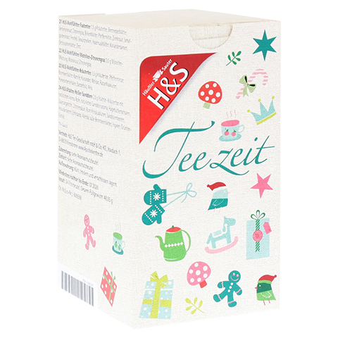H&S Adventskalender Teezeit Filterbeutel 24 Stück