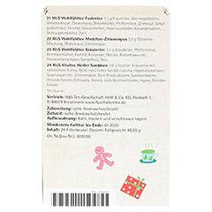 H&S Adventskalender Teezeit Filterbeutel 24 Stück - Linke Seite