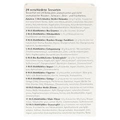 H&S Adventskalender Teezeit Filterbeutel 24 Stück - Rechte Seite