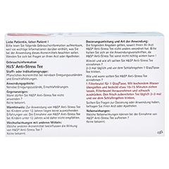 H&S Anti-Stress Tee 20x2.0 Gramm - Rückseite