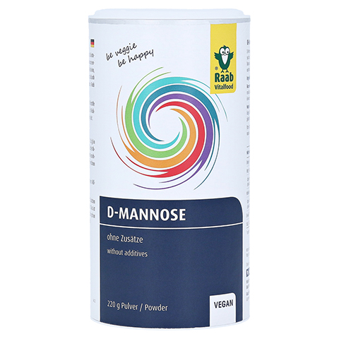 D-mannose Pulver Vorratsdose 220 Gramm
