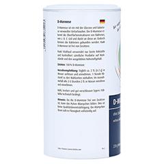 D-mannose Pulver Vorratsdose 220 Gramm - Rechte Seite
