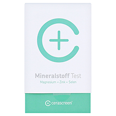 CERASCREEN Mineralstoff-Analyse Test 1 Stück - Vorderseite