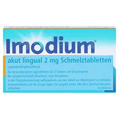 Imodium akut lingual 12 Stück N1 - Vorderseite