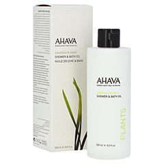 AHAVA Plants Shower and Bath Oil 250 Milliliter