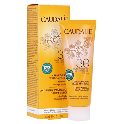 CAUDALIE Anti-Falten Sonnencreme Gesicht SPF 30 50 Milliliter