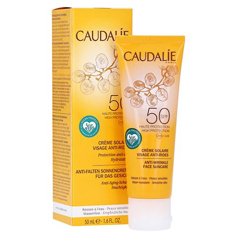 CAUDALIE Anti-Falten Sonnencreme Gesicht SPF 50 50 Milliliter
