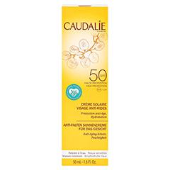 CAUDALIE Anti-Falten Sonnencreme Gesicht SPF 50 + gratis Caudalie Vinoperfect Creme 15 ml 50 Milliliter - Vorderseite