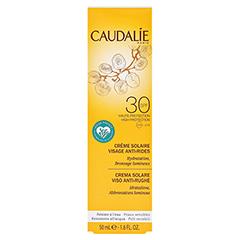 CAUDALIE Anti-Falten Sonnencreme Gesicht SPF 30 50 Milliliter - Rückseite