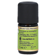 PRIMAVERA Lemongrass kbA ätherisches Öl 5 Milliliter - Rechte Seite