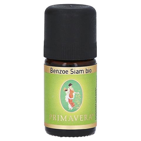 PRIMAVERA Benzoe Siam Bio ätherisches Öl 5 Milliliter