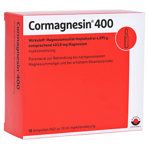Cormagnesin 400 10x10 Milliliter N2