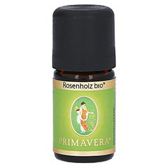 PRIMAVERA Rosenholz Bio ätherisches Öl 5 Milliliter