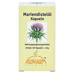 Mariendistel ÖL 500 mg Kapseln 60 Stück - Vorderseite