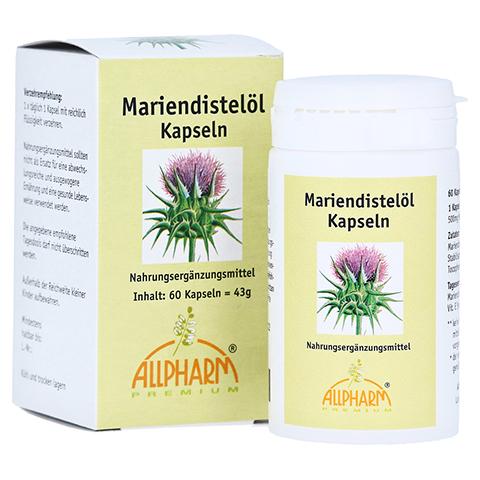Mariendistel ÖL 500 mg Kapseln 60 Stück