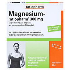 Magnesium ratiopharm 300 mg 40 Stück - Rückseite