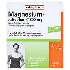 Magnesium ratiopharm 300 mg 40 Stück - Vorderseite