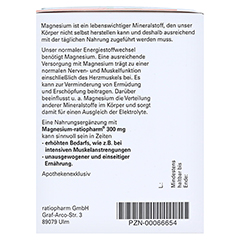 Magnesium ratiopharm 300 mg 40 Stück - Linke Seite