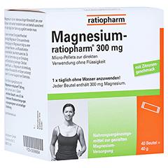Magnesium ratiopharm 300 mg 40 Stück