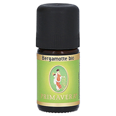 PRIMAVERA Bergamotte kbA ätherisches Öl 5 Milliliter
