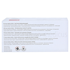 BOSO Medicus Family Universalmanschette 1 Stück - Unterseite