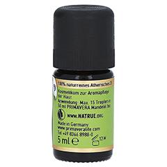 PRIMAVERA Citronella Öl ätherisch kbA 5 Milliliter - Rechte Seite