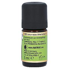 PRIMAVERA Kamillen Öl römisch kbA ätherisch 5 Milliliter - Rechte Seite