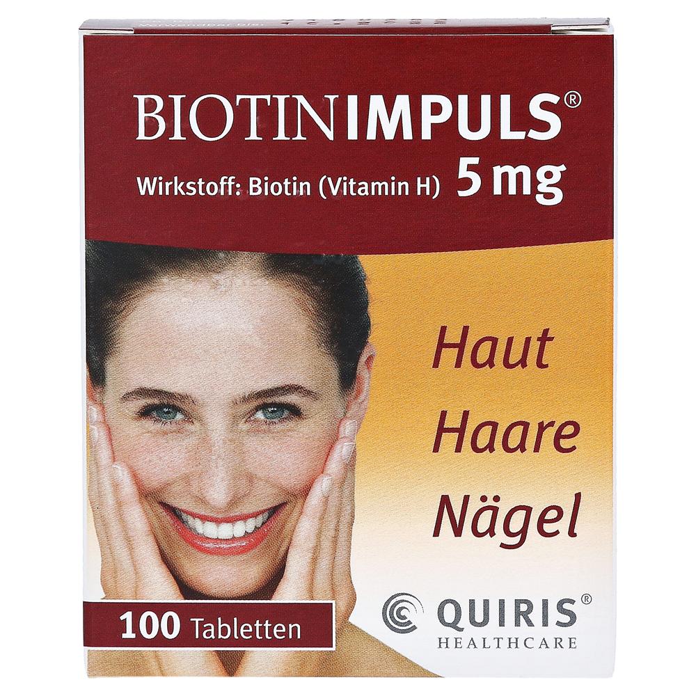 Erfahrungen Zu Biotin Impuls 5 Mg Tabl 100 Stück N3 Medpex