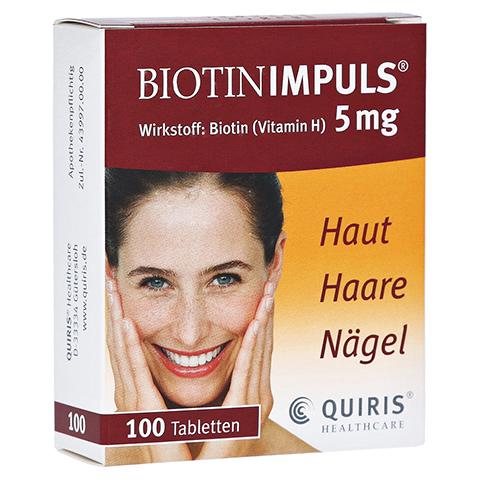 BIOTIN IMPULS 5 mg Tabl. 100 Stück N3