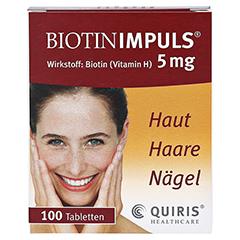 BIOTIN IMPULS 5 mg Tabl. 100 Stück N3 - Vorderseite