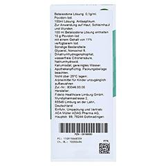 BETAISODONA Lösung 100 Milliliter N2 - Rückseite