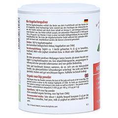 Hagebutten Pulver Bio 150 Gramm - Rechte Seite