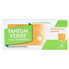 Tantum Verde mit Orange-Honiggeschmack 3mg 20 Stück N1 - Vorderseite