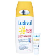 LADIVAL empfindliche Haut Spray LSF 30 + gratis Ladival Anti-Pigment Creme LSF 30 (5 ml) 150 Milliliter