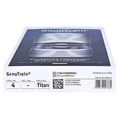 GENUTRAIN Knieband.Gr.4 titan 1 Stück - Unterseite