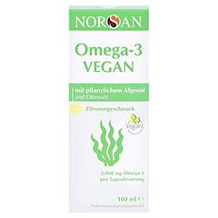 Norsan Omega-3 Vegan flüssig 100 Milliliter - Vorderseite