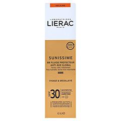 LIERAC Sunissime BB Schutzfluid LSF 30 dore 40 Milliliter - Rückseite