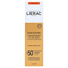 LIERAC Sunissime Gesicht LSF 50 Creme 40 Milliliter - Rückseite