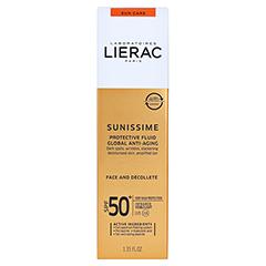 LIERAC Sunissime Gesicht LSF 50 Creme 40 Milliliter - Vorderseite