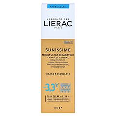 LIERAC Sunissime Gesicht After Sun Serum 30 Milliliter - Rückseite