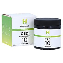 HEMPAMED Premium CBD Kapseln mit 10 mg CBD 60 Stück