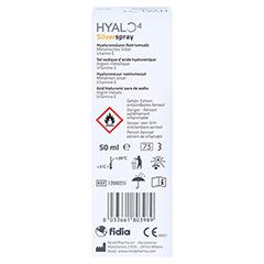 HYALO4 Silverspray 50 Milliliter - Rückseite