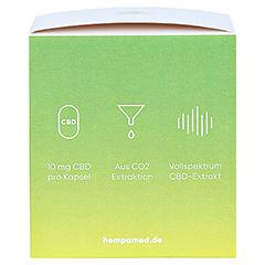 HEMPAMED Premium CBD Kapseln mit 10 mg CBD 60 Stück - Rechte Seite