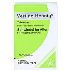 VERTIGO HENNIG Tabletten 180 Stück N2 - Vorderseite