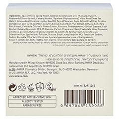 AHAVA DSOC supreme Hydration Creme + gratis Ahava Mineral Toning Water 250 ml 50 Milliliter - Unterseite