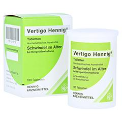 VERTIGO HENNIG Tabletten 180 Stück N2