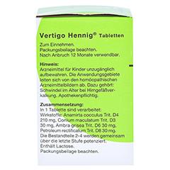 VERTIGO HENNIG Tabletten 180 Stück N2 - Rechte Seite