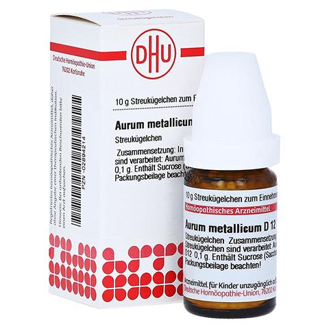 AURUM METALLICUM D 12 Globuli 10 Gramm N1
